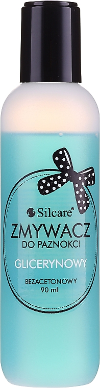 Odlakovač bez acetónu - Silcare Acetone-Free Nail Polish Remover