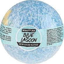Voňavky, Parfémy, kozmetika Šumivá guľa do kúpeľa s kakaovým maslom - Beauty Jar Blue Lagoon