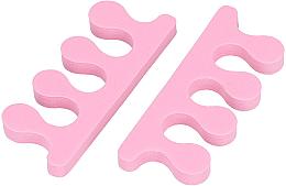 Voňavky, Parfémy, kozmetika Separátory pre prsty, ružové - Tools For Beauty Toe Separator Pink