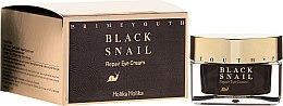 Voňavky, Parfémy, kozmetika Očný regeneračný krém s extraktom čierneho slimáka - Holika Holika Prime Youth Black Snail Repair Eye Cream