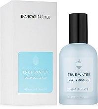 Voňavky, Parfémy, kozmetika Hĺbková hydratačná emulzia - Thank You Farmer True Water Deep Emulsion