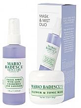 Voňavky, Parfémy, kozmetika Sada - Mario Badescu Lavender Mask & Mist Duo Set (mask/56g+spray/118ml)