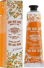 """Voňavky, Parfémy, kozmetika Krém na ruky """"Mandle a med"""" - Institut Karite Almond And Honey Hand Cream"""