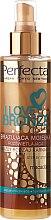Voňavky, Parfémy, kozmetika Bronzujúci sprej s s makadamovým olejom - Perfecta I Love Bronze Spray Mist