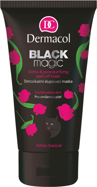 Maska-fólia na tvár - Dermacol Black Magic Detox&Pore Purifying Peel-Off Mask