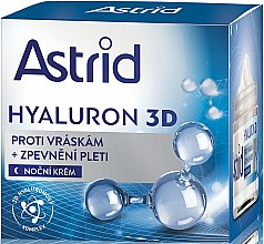 Voňavky, Parfémy, kozmetika Nočný krém na tvár - Astrid Hyaluron 3D