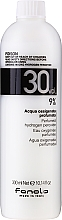 Voňavky, Parfémy, kozmetika Emulzné oxidačné činidlo - Fanola Acqua Ossigenata Perfumed Hydrogen Peroxide Hair Oxidant 30vol 9%