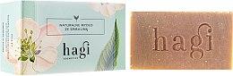 Voňavky, Parfémy, kozmetika Prírodné mydlo s extraktom z citrónovej trávy a spiruliny - Hagi Soap