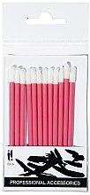 Voňavky, Parfémy, kozmetika Aplikátory na líčenie pier, ružové, 12 ks - Ibra