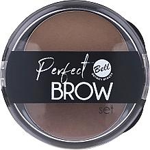 Voňavky, Parfémy, kozmetika Sada odtieňov na obočie s aplikátorom - Bell Perfect Brow Set