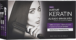Voňavky, Parfémy, kozmetika Sada - Kativa Keratin (shm/35ml + cond/35ml + mask/100ml)