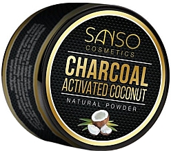 Voňavky, Parfémy, kozmetika Prírodný bieliaci zubný prášok - Sanso Cosmetics Charcoal Activated Coconut Natural Powder