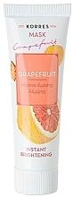 Voňavky, Parfémy, kozmetika Rozjasňujúca maska Grapefruit - Korres Grapefruit Instant Brightening Mask