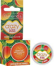 """Voňavky, Parfémy, kozmetika Peeling na pery """"Mango"""" - Bielenda Crazy Kiss Mango Sugar Lip Scrub"""