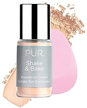 Voňavky, Parfémy, kozmetika Korektor - Pur Shake & Bake Powder-to-Cream Under Eye Concealer