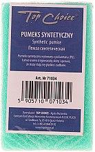 Voňavky, Parfémy, kozmetika Syntetická obojstranná pemza, zelená, 71034 - Top Choice