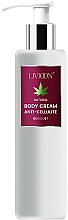 Voňavky, Parfémy, kozmetika Proticelulitídny krém na telo - Livioon Body Cream Hemp Oil Anti-Cellulit
