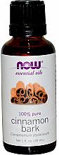 Voňavky, Parfémy, kozmetika Škoricový éterický olej - Now Foods Essential Oils 100% Pure Cinnamon Bark