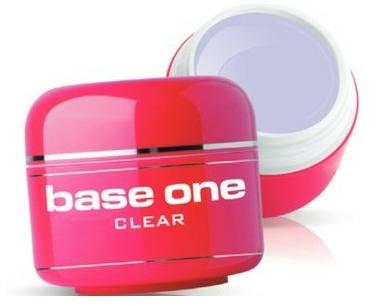 Gél na nechty, bezfarebný - Silcare Base One Clear