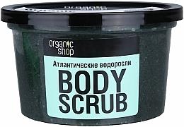 """Telový peeling """"Atlantické riasy"""" - Organic Shop Body Scrub Organic Algae & Sea Salt — Obrázky N3"""
