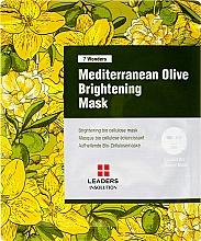 Voňavky, Parfémy, kozmetika Maska na tvár - Leaders 7 Wonders Mediterranean Olive Brightening Mask