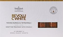 Voňavky, Parfémy, kozmetika Koncentrát nočný s vitamínom C - Farmona Revolu C White