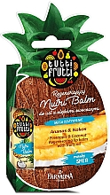 "Voňavky, Parfémy, kozmetika Balzam na pery ""Ananás a kokos"" - Farmona Tutti Frutti Regenerating Lip Balm Pineapple & Coconut"