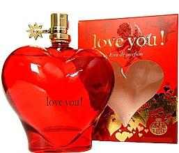 Voňavky, Parfémy, kozmetika Real Time Love You! Red - Parfumovaná voda