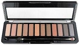 Voňavky, Parfémy, kozmetika Paleta očných tieňov - Delia Cosmetics Color Master Ideal Nude