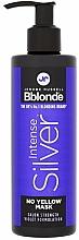 Voňavky, Parfémy, kozmetika Maska na blond, sivé a odfarbené vlasy - Jerome Russell Bblonde Intense Silver No Yellow Mask
