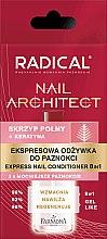 Voňavky, Parfémy, kozmetika Expresný kondicionér na nechty 8 v 1 - Farmona Radical Nail Architect Express 8in1