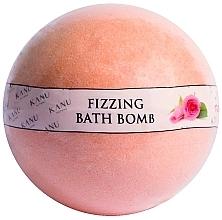 """Voňavky, Parfémy, kozmetika Bomba do kúpeľa """"Ruža"""" - Kanu Nature Fizzing Bath Bomb Rose"""