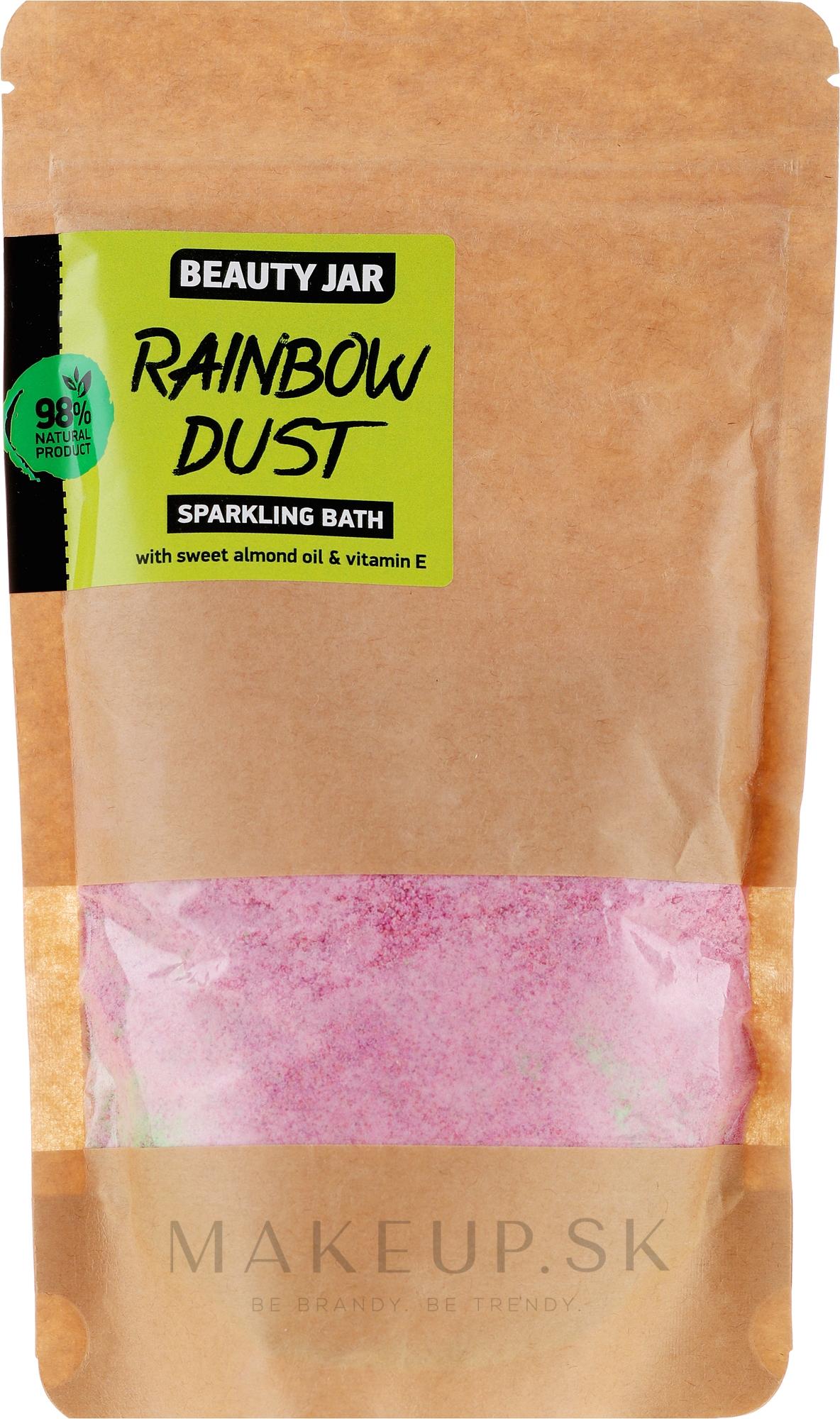 """Prášok do kúpeľa """"Rainbow Dust"""" - Beauty Jar Sparkling Bath Rainbow Dust — Obrázky 250 g"""
