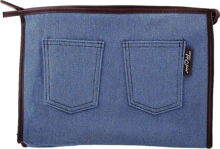 """Kozmetická taška """"Real Jeans. Denim"""", 94569, modrá - Top Choice — Obrázky N1"""
