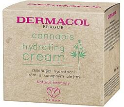 Upokojujúci a hydratačný krém s konopným olejom - Dermacol Cannabis Hydrating Cream — Obrázky N1