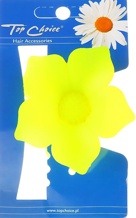 Spona do vlasov 24320, žltá - Top Choice — Obrázky N1