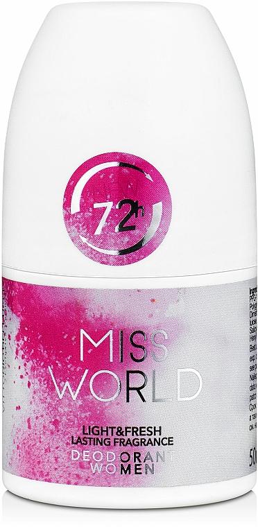 Vittorio Bellucci Miss World - Parfumovaný dezodoranť roll-on