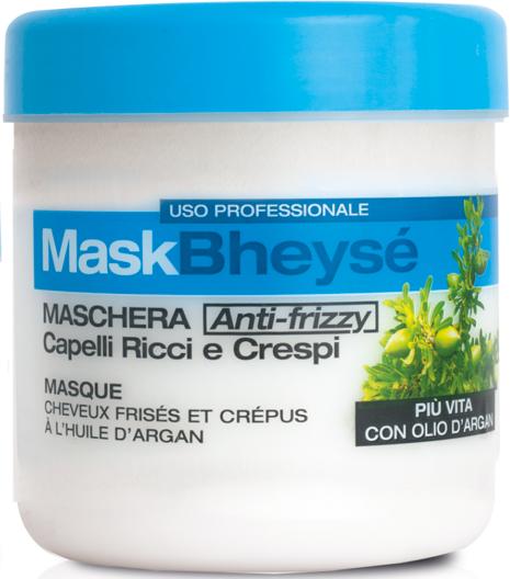 Maska s arganovým olejom na kučeravé vlasy - Renee Blanche Bheyse Maschera Capelli Ricci e Crespi — Obrázky N2