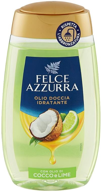 """Sprchový olej """"Kokos a limetka"""" - Felce Azzurra Shower Oil"""