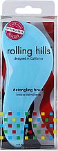 Voňavky, Parfémy, kozmetika Kefa na vlasy, modrá - Rolling Hills Detangling Brush Travel Size Sky Blue