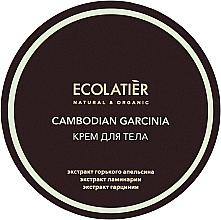 """Voňavky, Parfémy, kozmetika Anticelulitídny telový krém """"Kambodžská Garcinia"""" - Ecolatier Cambodian Garcinia Body Cream"""
