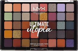 Voňavky, Parfémy, kozmetika Paleta očných tieňov - NYX Ultimate Utopia Shadow Palette Summer 2020