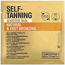 Voňavky, Parfémy, kozmetika Samoopaľovacia utierka pre citlivú pokožku - Comodynes Self-Tanning Sensitive Skin