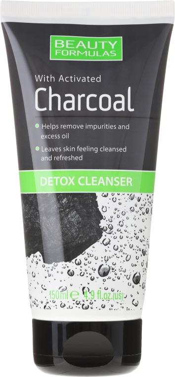 Prostriedky pre čistenie pleti tváre s uhlím - Beauty Formulas Charcoal Detox Cleanser — Obrázky N1