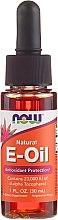 """Voňavky, Parfémy, kozmetika Olej """"Vitamín E"""" - Now Foods Oil"""