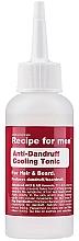 Voňavky, Parfémy, kozmetika Tonikum proti lupinám  - Recipe For Men Anti-Dandruff Cooling Tonic