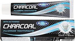 Voňavky, Parfémy, kozmetika Zubná pasta s aktívnym uhlím - Beauty Formulas Charcoal Activated Fluoride Toothpaste