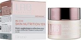 Regeneračný vyhladzovací nočný krém na tvár - Lirene Lab Therapy Nourishment In-Chi Skin Nutrition 15% — Obrázky N1