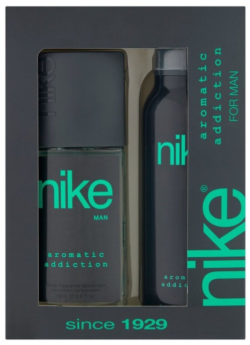 Nike Men Aromatic Addiction - Sada (deo/200ml + deo/spray/75ml)
