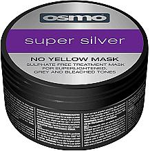 Voňavky, Parfémy, kozmetika Superstrieborná maska bez žltého odtieňa - Osmo Super Silver No Yellow Mask